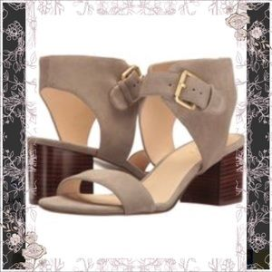 🦉New in box Nine West Suede Ankle Sandal 🦉